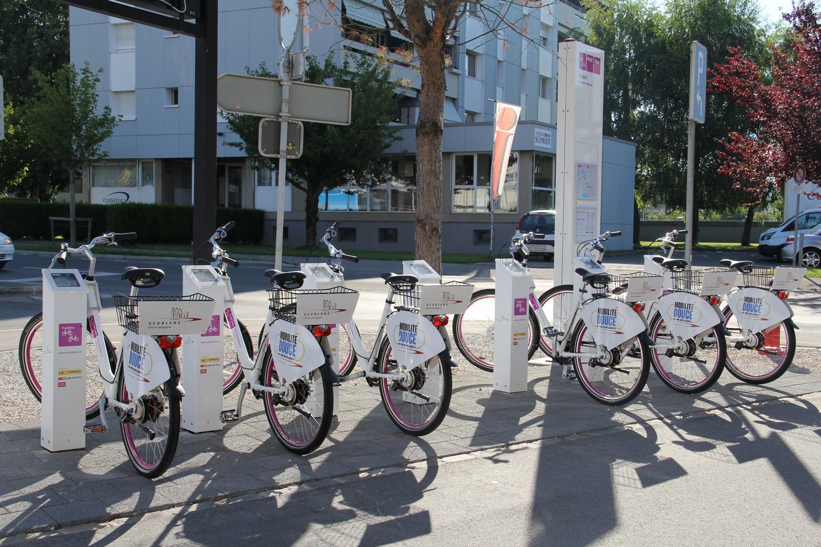 Administration communale ecublens vélos et vélos cargos